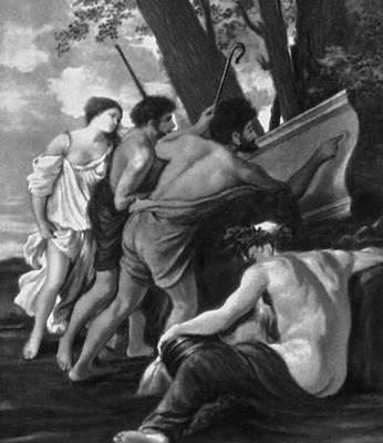 Пуссен Н. «Аркадские пастухи» (1-й вариант). Около 1629—1630. Чатсуорт (Великобритания). Пуссен Никола.