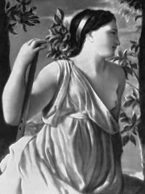 Пуссен Н. «Вдохновение поэта». Около 1627—29. Фрагмент. Лувр. Париж. Пуссен Никола.