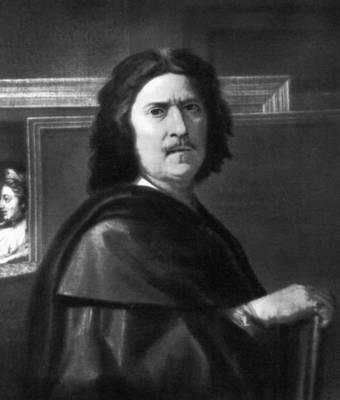 Н. Пуссен. Автопортрет. 1650. Лувр. Париж. Пуссен Никола.