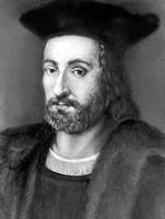 Ф. Рабле. Портрет французской школы. Ок. 1535. Рабле Франсуа.
