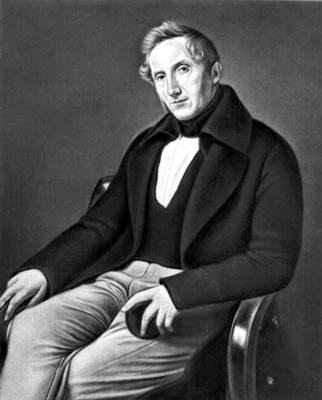 Ф. Айес (Италия). «А. Мандзони». 1841. Пинакотека Брера. Милан. Романтизм.
