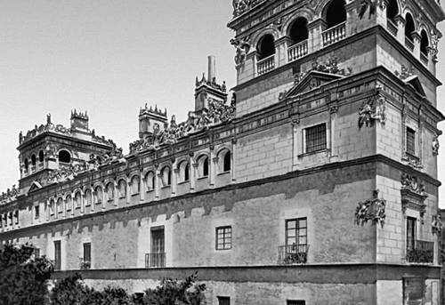 Саламанка. Паласио де Монтеррей. 1540. Архитектор Р. Хиль де Онтаньон. Саламанка (город в Испании).