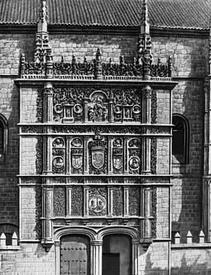 Университет в Саламанке. Фасад. 1529. Саламанка (город в Испании).