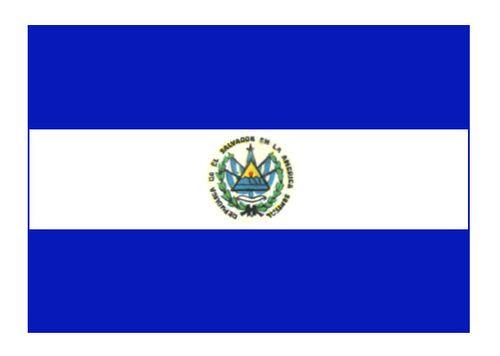 Флаг государственный. Сальвадор. Сальвадор.