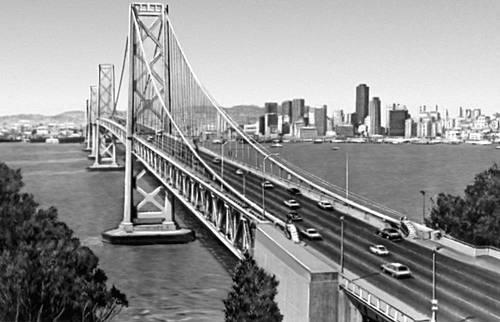 Сан-Франциско. Мост Сан-Франциско — Окленд. Сан-Франциско (город в США).