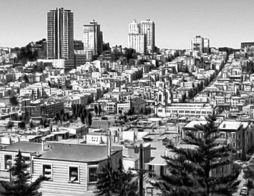 Сан-Франциско. Старый квартал. Сан-Франциско (город в США).