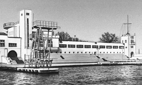Севастополь. Водная станция Черноморского флота. 1933. Севастополь.