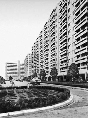 Сеул. Комплекс жилых зданий. 1960-е гг. Сеул.