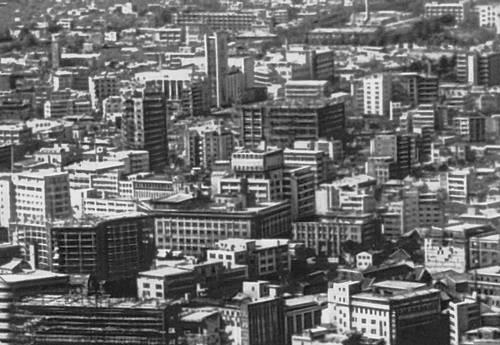 Сеул, центральная часть города. Сеул.
