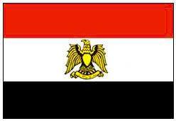 Государственный флаг Сирии. Сирия.