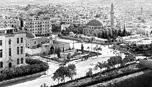 Вид части города Халеб. Сирия.