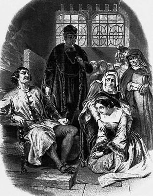 В. Скотт. «Квентин Дорвард». 1883. Фронтиспис. Скотт Вальтер.