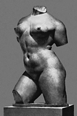 Скульптура. А. Майоль (Франция). «Скованное движение». Бронза. Нач. 20 в. Метрополитен-музей. Нью-Йорк. Скульптура.