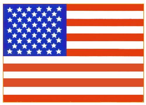 Соединенные Штаты Америки. Флаг государственный. Соединённые Штаты Америки.