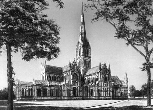 Солсбери (Великобритания). Собор. 1220—1330. Солсбери (город в Великобритании).