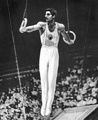 Спортивная гимнастика. Упражнения на кольцах (А. В. Азарян). Спортивная гимнастика.