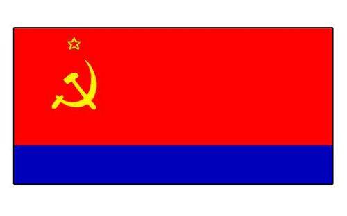 Азербайджанская ССР. Флаг государственный. СССР. Азербайджанская ССР.