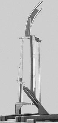 В. А. и Г. А. Стенберги. Экспериментальная конструкция. Металл, стекло. 1919. Стенберги Владимир Августович и Георгий Августович.