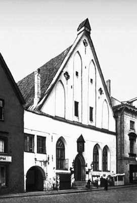 Таллин. Большая гильдия. Фасад. 1410. Таллин.