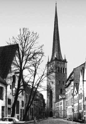 Таллин. Церковь Олевисте (Олаевская). 15 — начало 16 вв. Таллин.