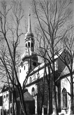 Таллин. Домский собор. 13—15 вв. (башня — 1779, архитектор К. Л. Гейст). Таллин.