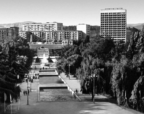 Тбилиси. Парк Победы. Тбилиси.