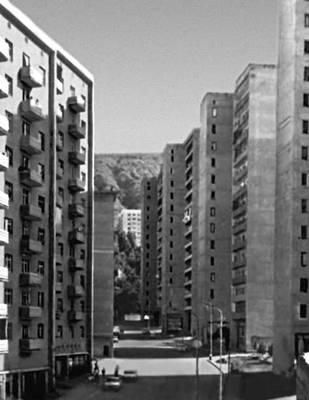 Тбилиси. Жилые дома на улице Кекелидзе. 1960—70-е гг. Тбилиси.