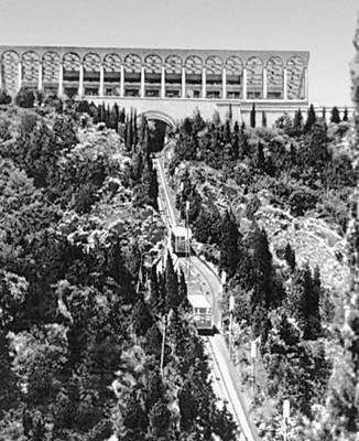 Тбилиси. Верхняя станция фуникулера на горе Мтацминда. 1938. Архитекторы З. и Н. Курдиани, соавтор А. В. Валобуев. Тбилиси.