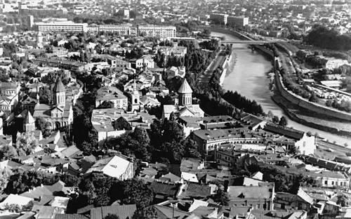 Тбилиси. Общий вид. Тбилиси.