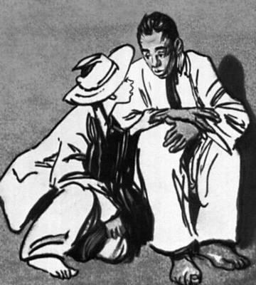 М. Твен. «Приключения Гекльберри Финна» (Москва, 1955). Илл. В. Н. Горяева. Твен Марк.