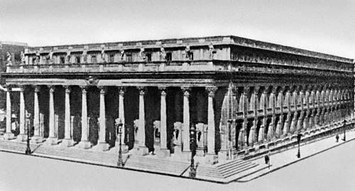 Бордо. Большой театр. 1773—80. Архитектор В. Луи. Театр.