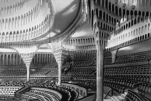 Х. Пёльциг. Большой театр в Берлине. 1919. Театр.
