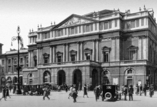Театр «Ла Скала». 1778. Арх. Дж. Пьермарини. Театр.