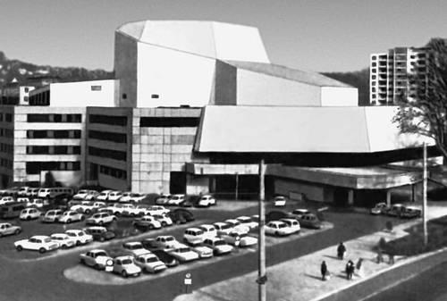 Городской театр в Ульме (ФРГ). 1969. Архитектор Ф. Шефер. Театр.