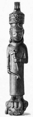 Бронзовая статуэтка бога Тейшебы. Исторический музей Армении. Ереван. Тейшебаини.