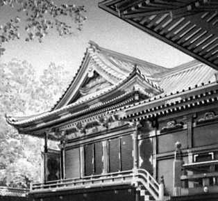Токио. Святилище Нэдзу Инья. Начато в 15 в. Токио.
