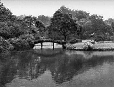 Токио. Сад Рикугиен. Существует с 1695. Токио.