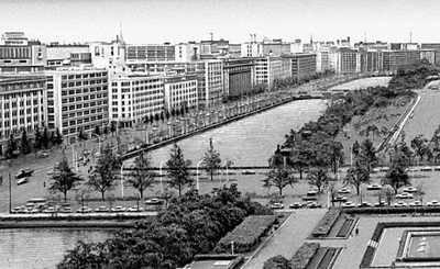 В центральной части Токио. Вид со стороны Императорского дворца. Токио.