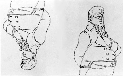 «Война и мир». Пьер Безухов. Илл. М. С. Башилова. 1866—67. Толстой Лев Николаевич.