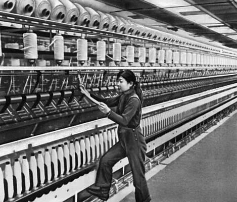 Текстильная фабрика промкомбината в Улан-Баторе. Улан-Батор.