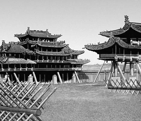 Дворцовый комплекс Ногон-Орго. 1832. Улан-Батор.