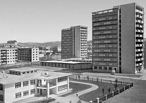 Новый микрорайон. 1960-е гг. Улан-Батор.