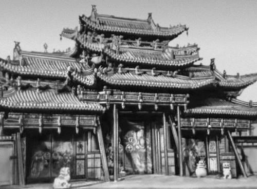 Дворцовый комплекс Ногон-Орго в Улан-Баторе. 1832. «Святые ворота». Улан-Батор.