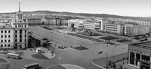 Улан-Удэ. Площадь Советов. Улан-Удэ.