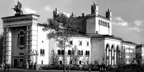 А. Н. Федоров. Бурятский театр оперы и балета в Улан-Уде. 1947—52. Улан-Удэ.