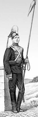 Рядовой уланского полка (1910). Уланы.