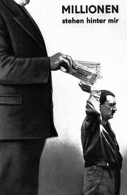 «Миллионы стоят за мной» (смысл гитлеровского приветствия). Фотокарикатура Дж. Хартфилда. Октябрь 1932. Хартфилд Джон.