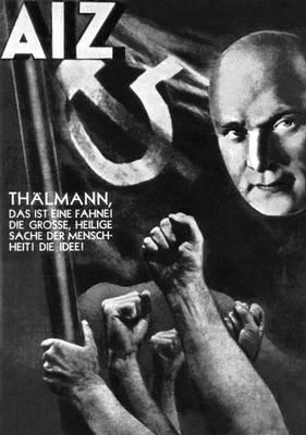 Дж. Хартфилд. «Тельман». Фотомонтаж. 1934. Хартфилд Джон.
