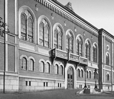 Хельсинки. «Рыцарский дом». 1858—61. Архитектор Г. Т. Хейвитц. Хельсинки.