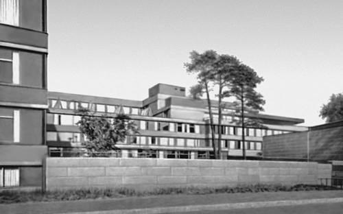 Хельсинки. Управление государственного пенсионного обеспечения. 1952—56. Архитектор А. Аалто. Хельсинки.